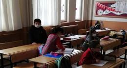 Kırıklı İlköğretim Okulunda  Öğrenciler Ders Başı Yaptı