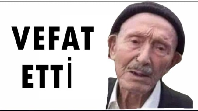Ahmet Kaya Vefat Etti (Beşirli Köyü)