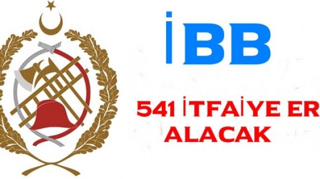 İstanbul Büyükşehir 541 İtfaiye Eri Alacak