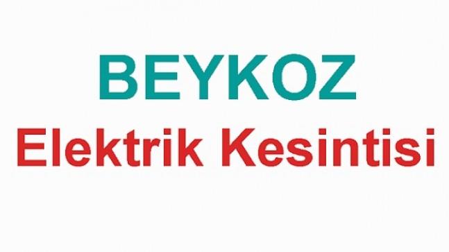 Beykoz'da Elektrik Kesintisi Uygulanacak
