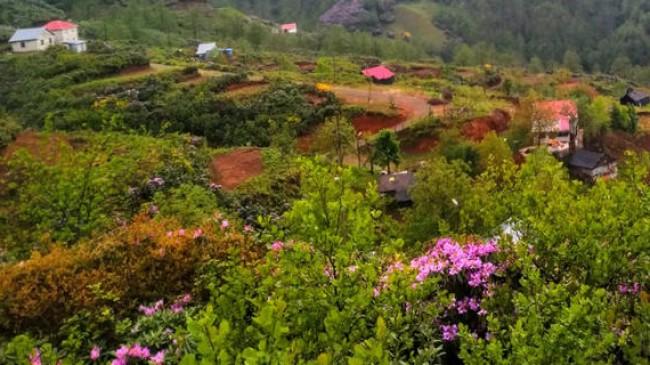 Esenli Köyü Dağından Muhteşem Görüntüler