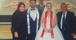 Alayna & Atakan Çifti Evlendi Teşekkür Mesajı
