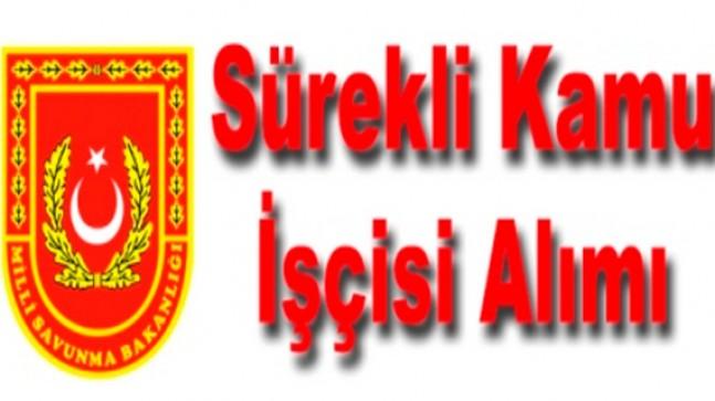 Milli Savunma Bakanlığı ve İstanbul Taşkızak İşci Alıyor