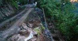 Esenli Köyünde Ana Yol Açıldı