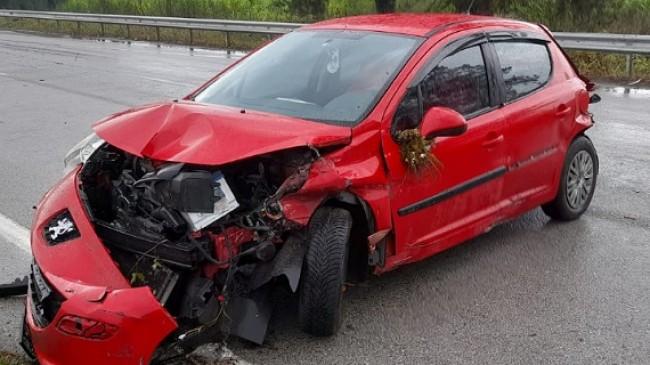 Genç Köylümüz Trafik Kazası Geçirdi.
