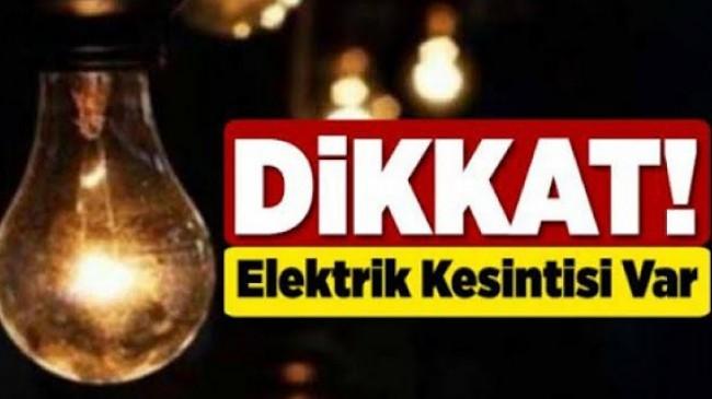 Zıva Köylerinde Elektrik Kesintisi Var