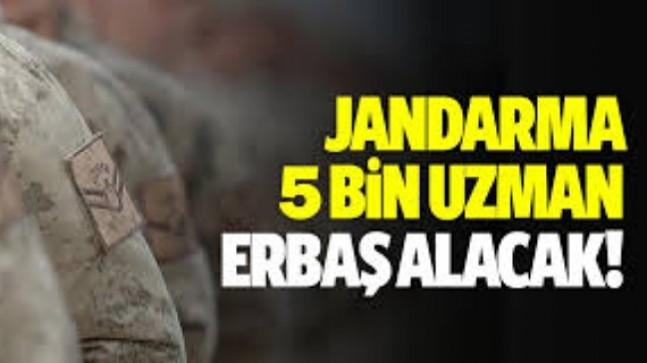 Jandarma 5 Bin Uzman Çavuş Alacak