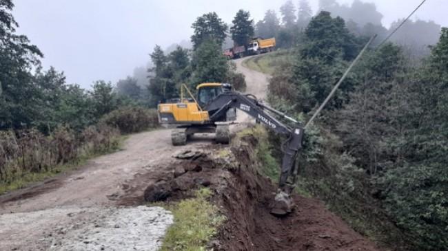 Sis Dağı Yolunda Çalışma Var Yol Kapalı