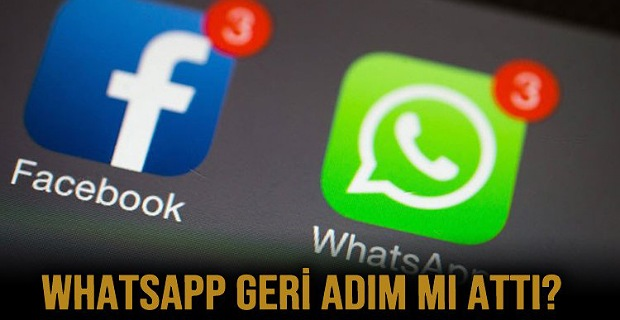 Whatsapp Geri Adım Mı Attı?